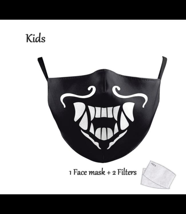 DG Gesichtsmaske für Kinder - Waschbare, wiederverwendbare Maske - Brull