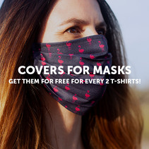 FREE Face Mask for every 2 shirts