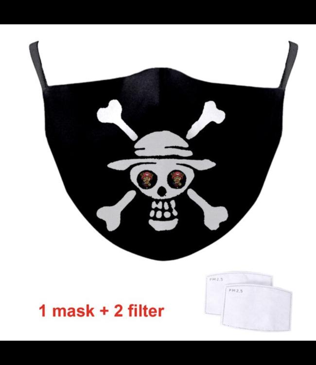 DG Jack Skellington 2 face mask