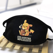 No coffee no workee Pikachu
