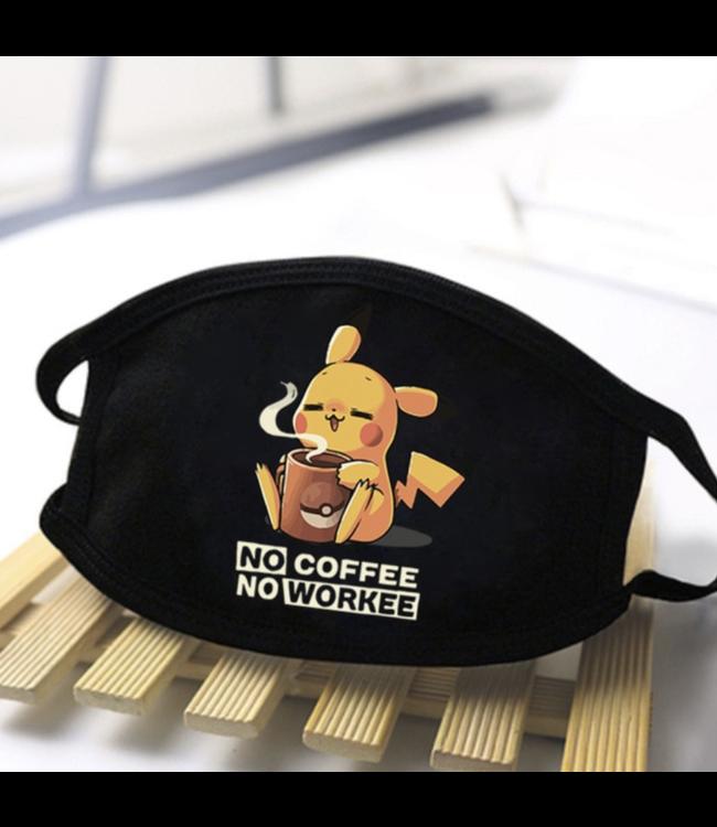 DG No coffee no workee Pikachu