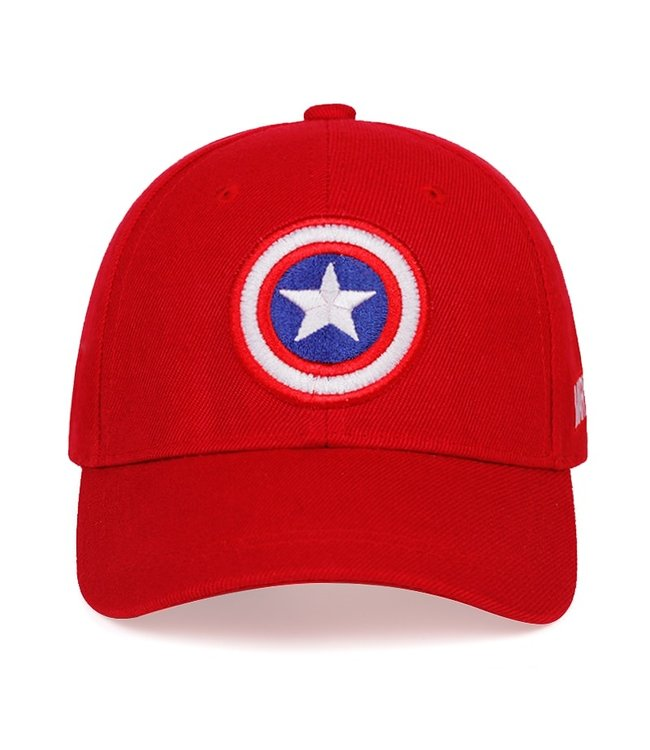 DG Shield Captain Snapback Red