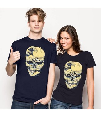 The Great Wave of Skull by Quilimo