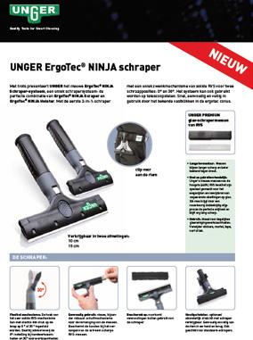 Unger Ninja Schraper Brochure