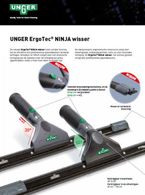Unger Ninja Wisser Brochure