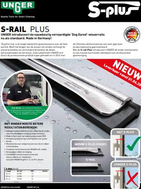 Unger S-rail plus Brochure