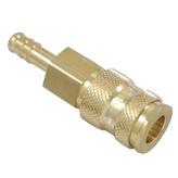 Messing Snelkoppeling V, 6mm