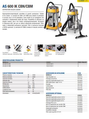Brochure AS 600