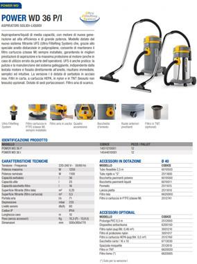 Brochure WD 36 P UFS