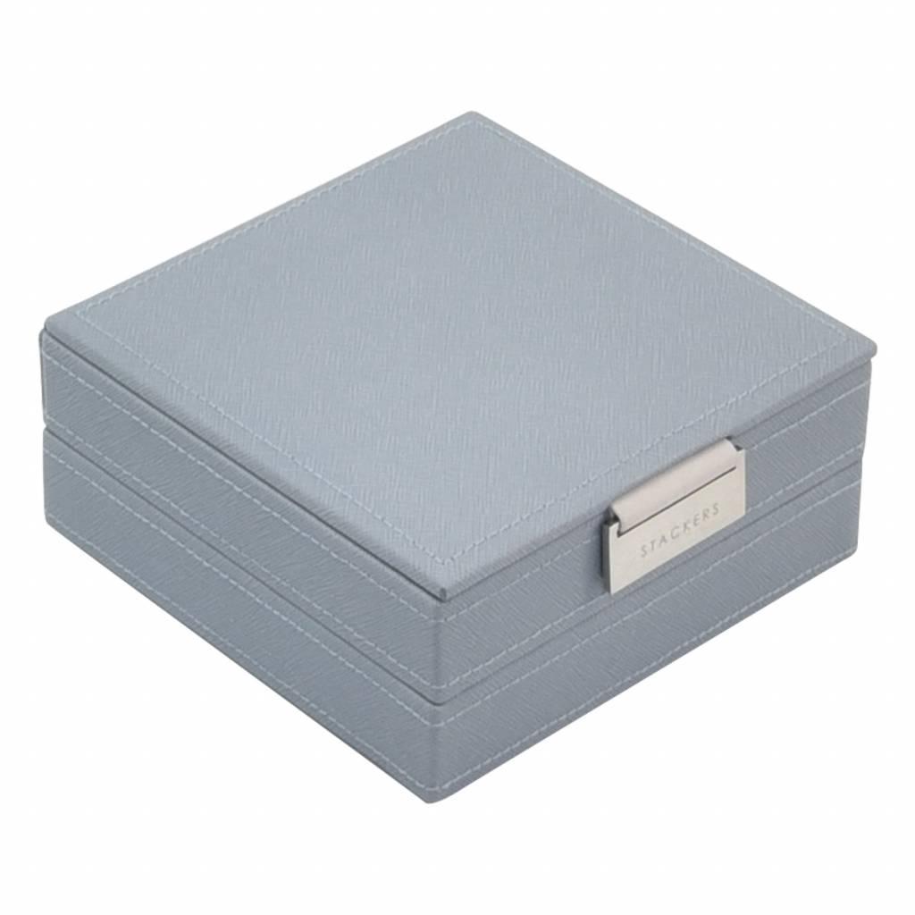 Charm 2-Set Dusky Blue & Grey Velvet-1