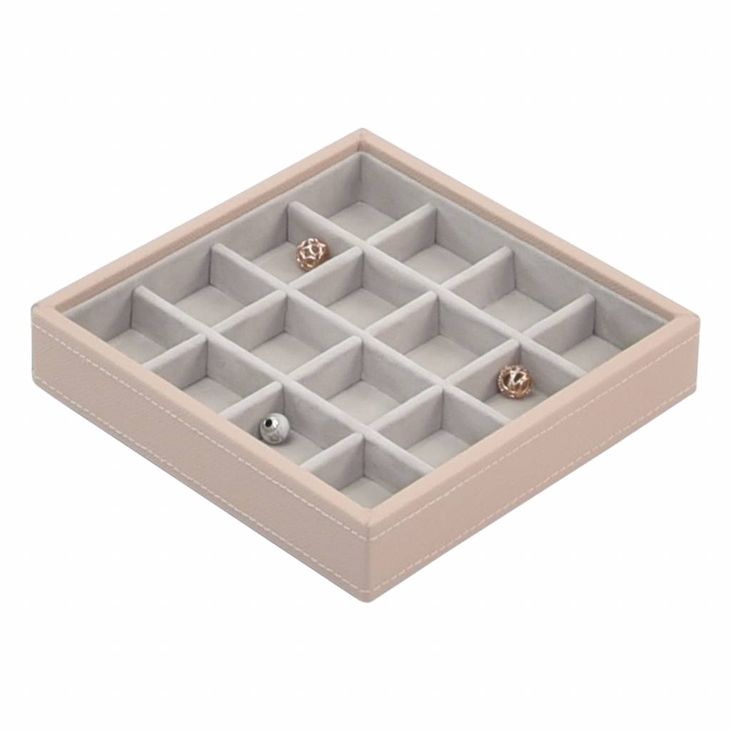 "Jewelry Box ""Charm"" 2-Set in Blush & Grey-2"