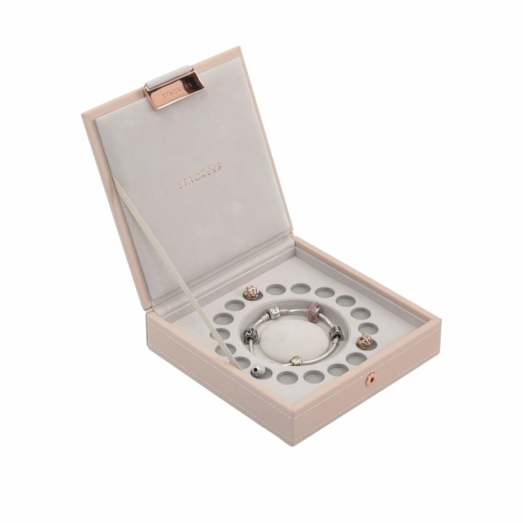 "Jewelry Box ""Charm"" 2-Set in Blush & Grey-3"