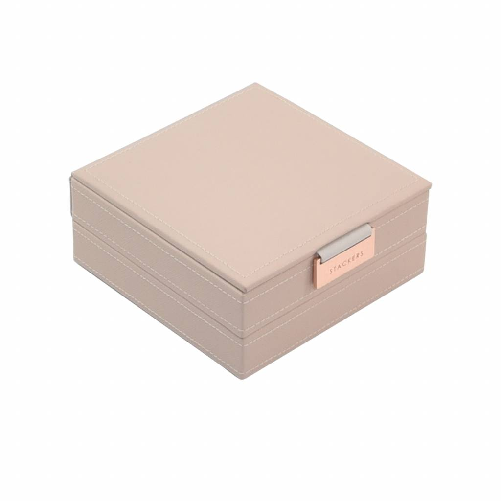 "Jewelry Box ""Charm"" 2-Set in Blush & Grey-1"