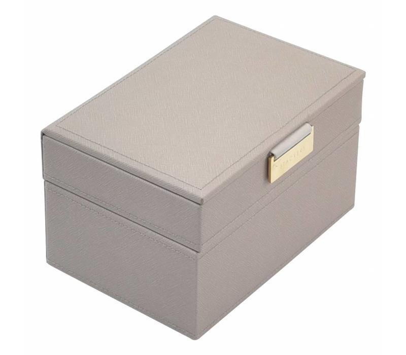 Juwelendoos Mini 2-Set | Taupe & Grey