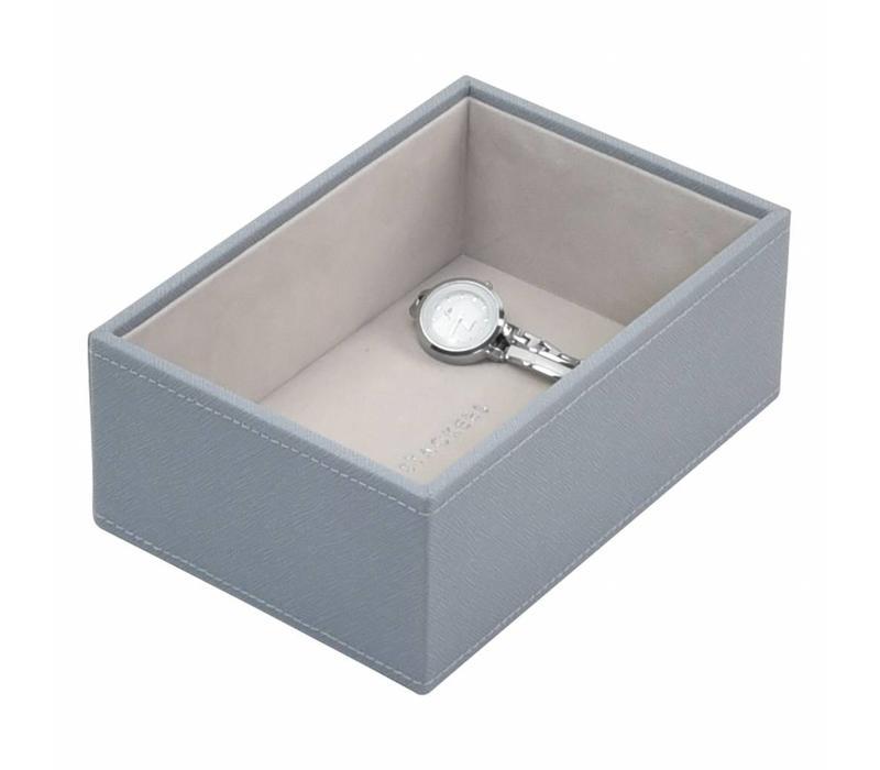 "Juwelendoos ""Mini"" 2-Set in Dusky Blue & Grey"