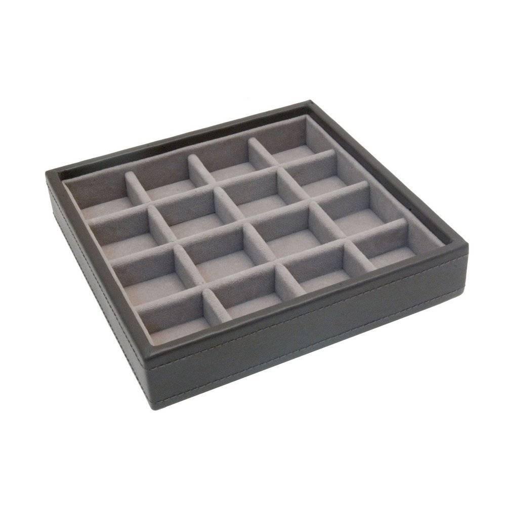 Charm 16-Section Box   Mink & Stone-1