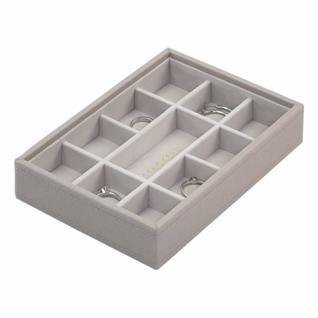Mini 3-Set Taupe & Grey Velvet-4