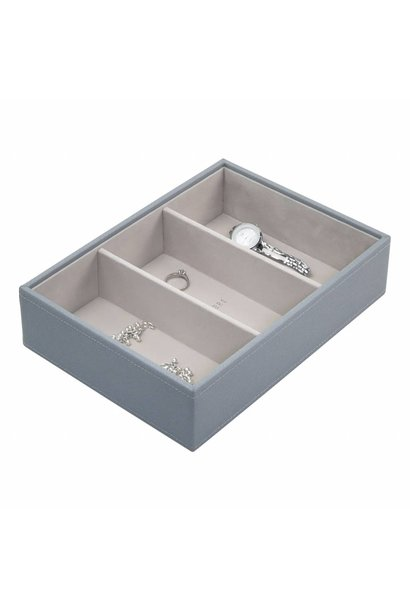 Classic 3-Box | Dusky Blue & Grey