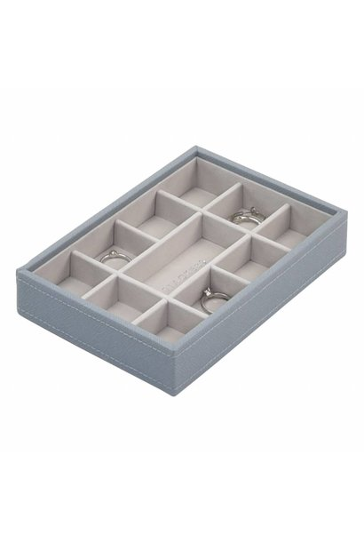 Mini 11-Box | Dusky Blue & Grey