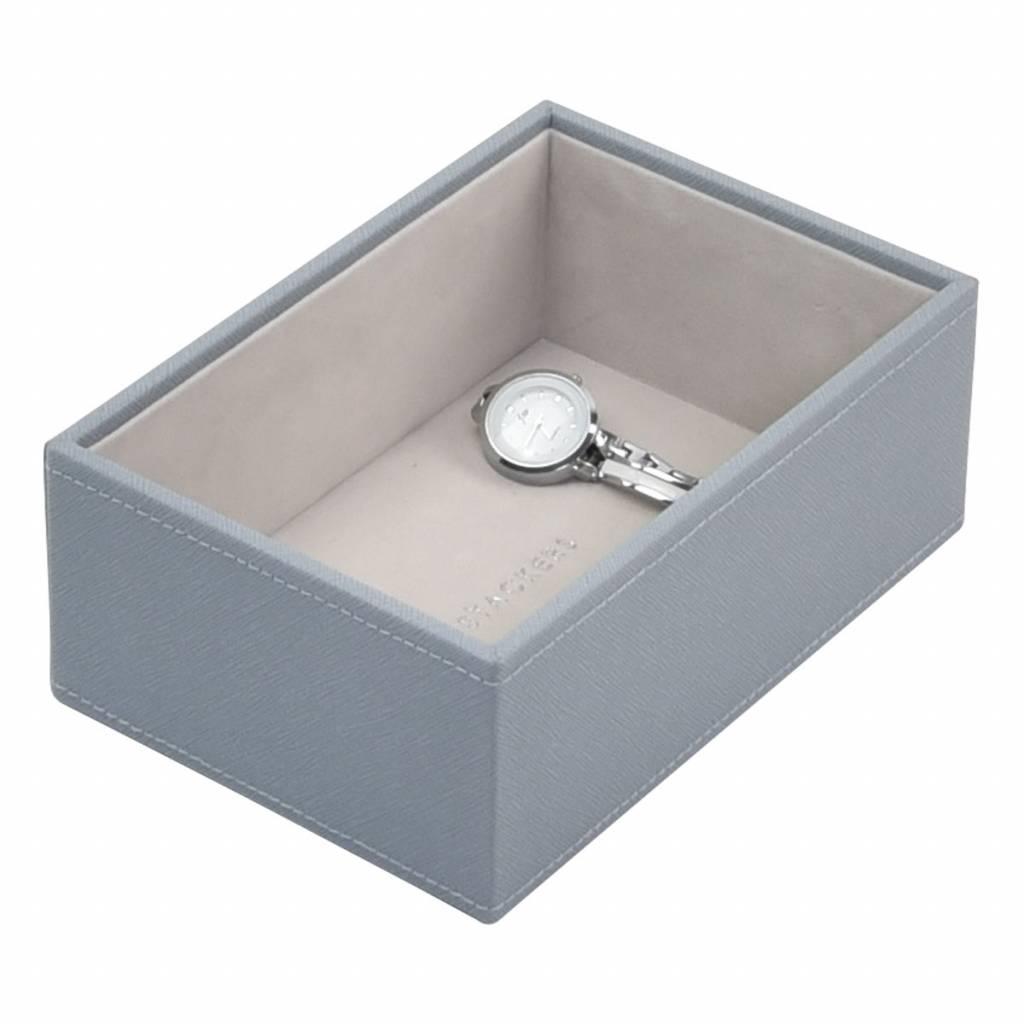 Mini Open Box Dusky Blue & Grey Velvet-1