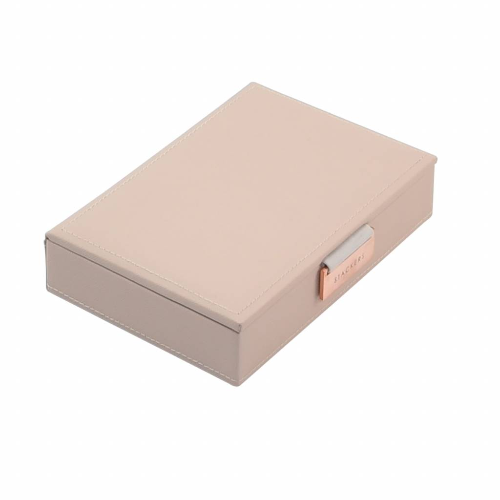 Mini Top Box Blush & Grey Velvet-1