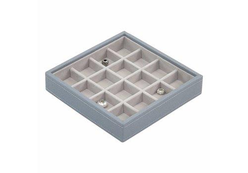 STACKERS Charm 16-Box | Dusky Blue & Grey