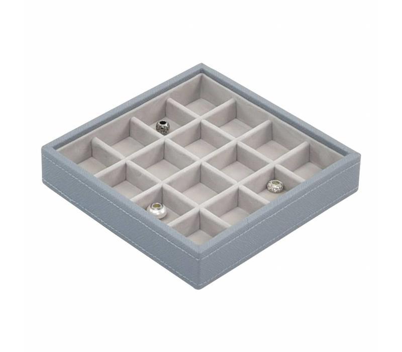 Charm 16-Box   Dusky Blue & Grey
