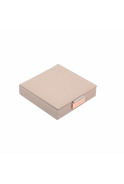 Charm Top-box | Blush & Grey