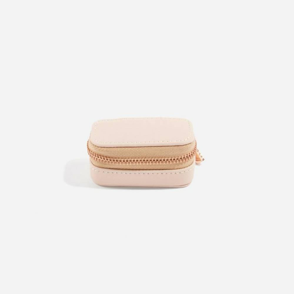 Mini Etui / Travel Box in Blush & Grey-2
