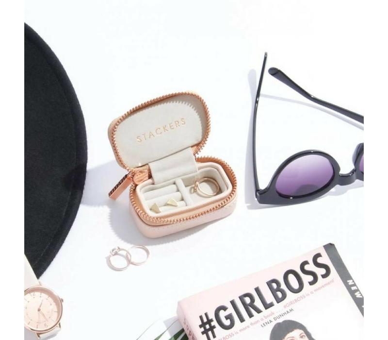 Mini Etui Travel Box | Blush & Grey
