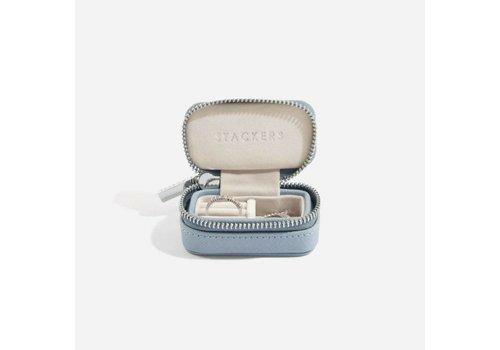 STACKERS Mini Etui | Dusky Blue & Grey