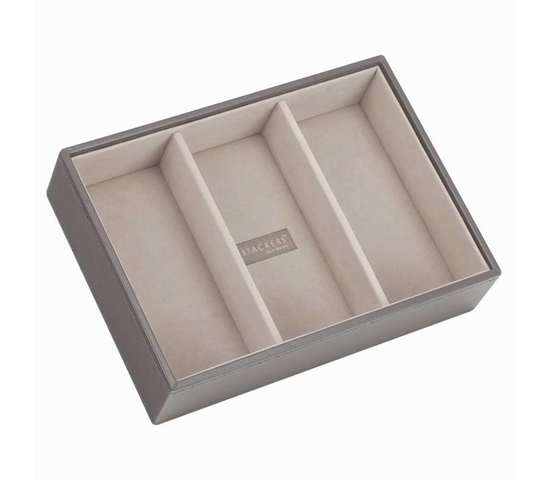 Classic 3-Section Box | Mink & Stone