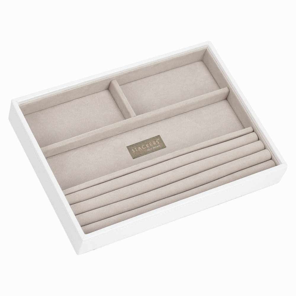 Classic 4-Section Box | White & Stone-1