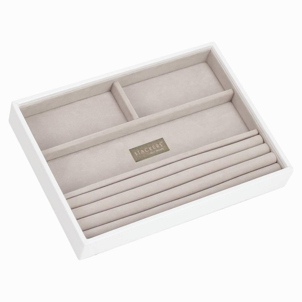 Classic 4-Section Box | White & Stone-1