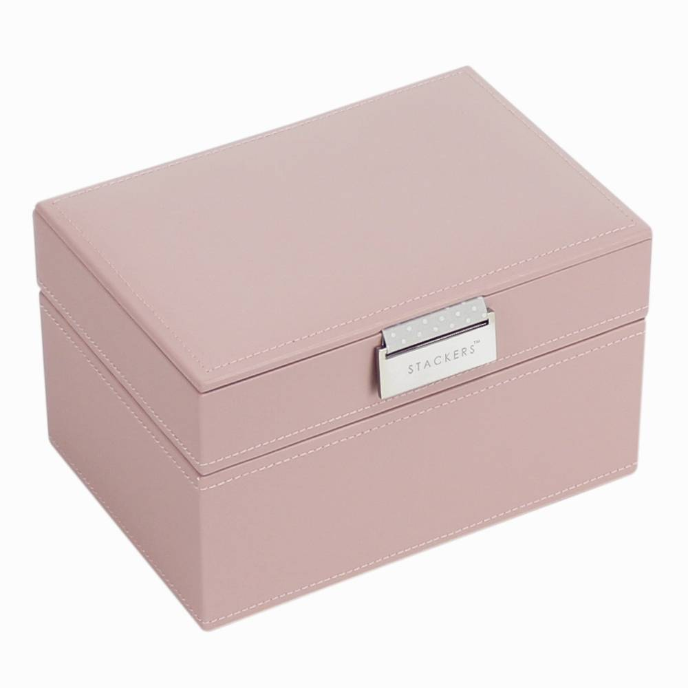 Box Mini 2-Set Stackers in Soft Pink-1