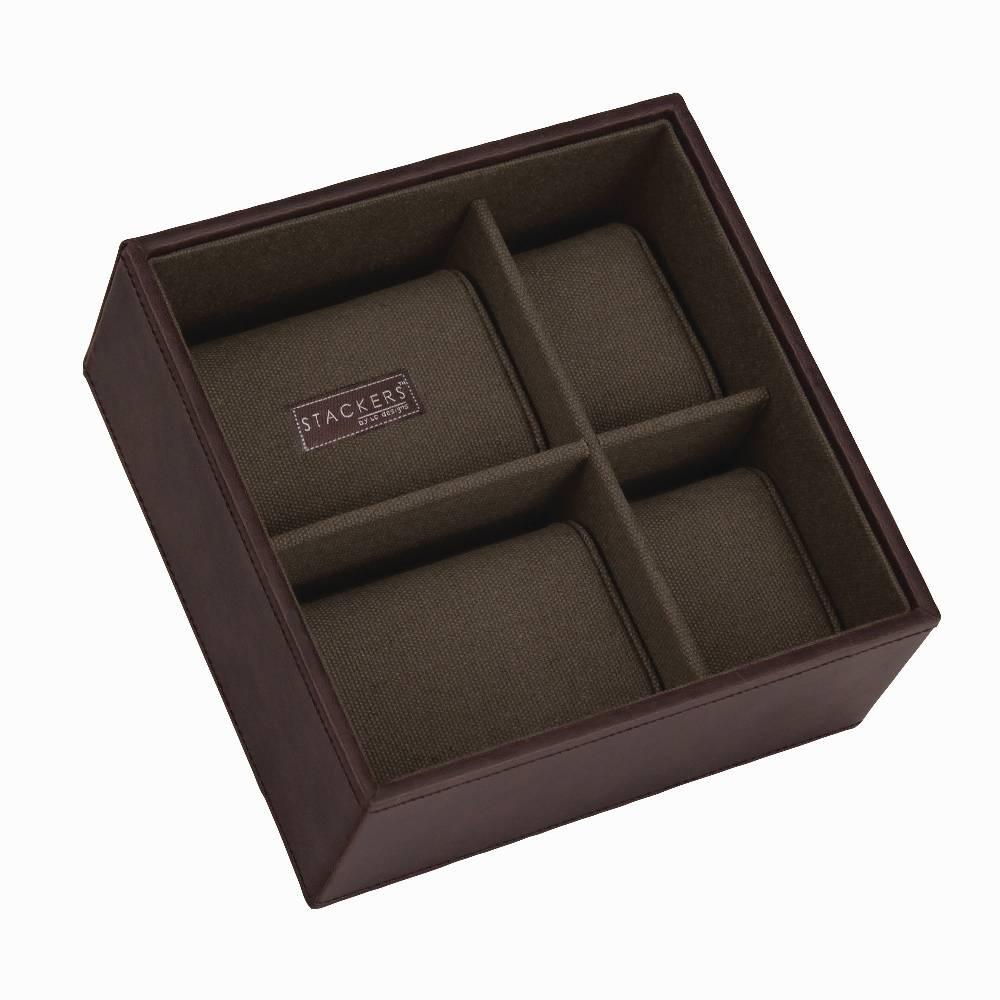 Square 2-Set in Brown & Khaki-3