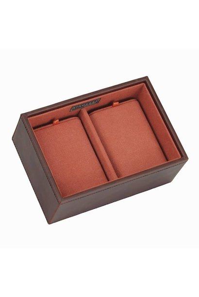Deep Watch Stacker in Brown & Orange