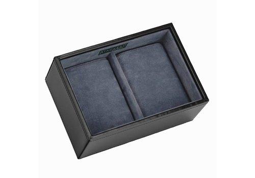 STACKERS Box Mini 2-Section in Zwart & Grijs