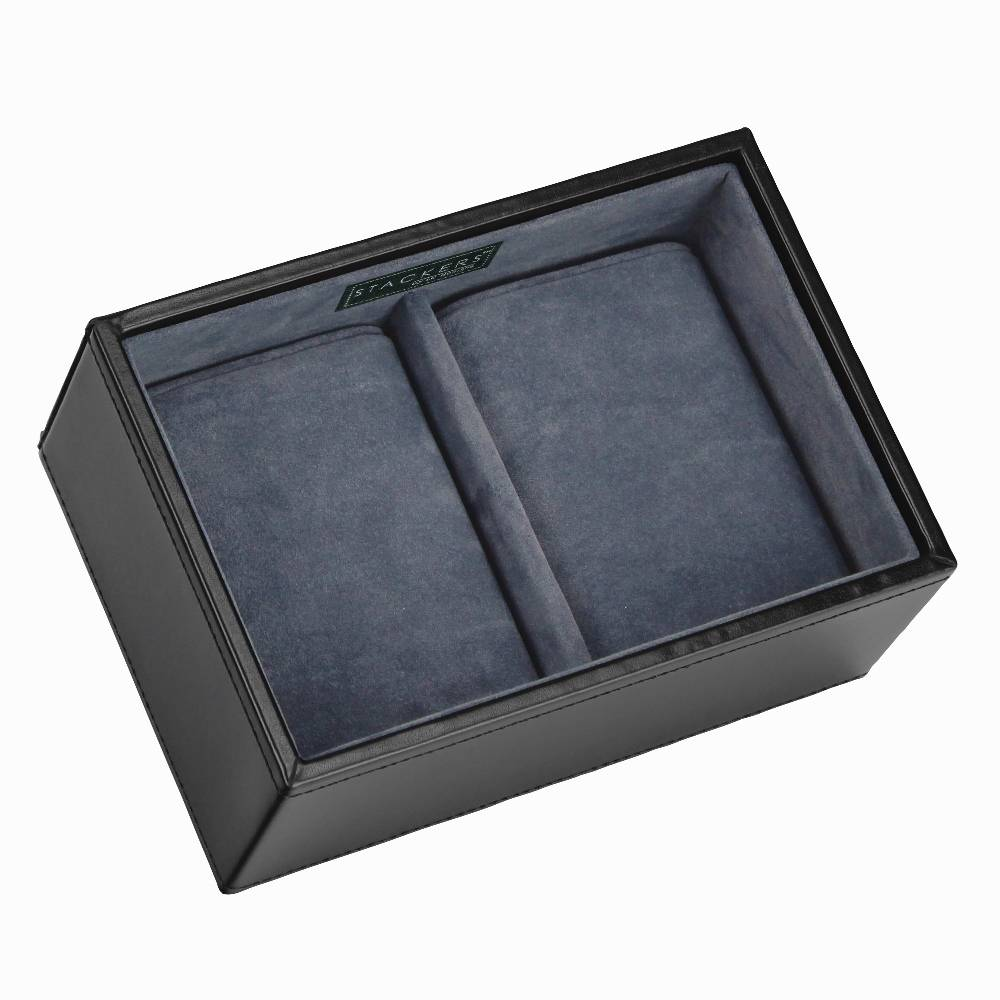 Mini 2-Watch Box Black & Grey-1