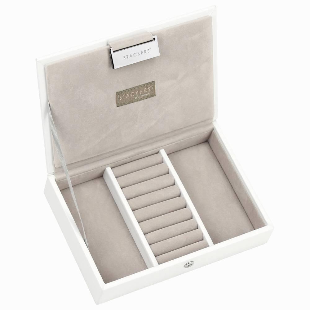 Mini Top Box | White & Stone-1