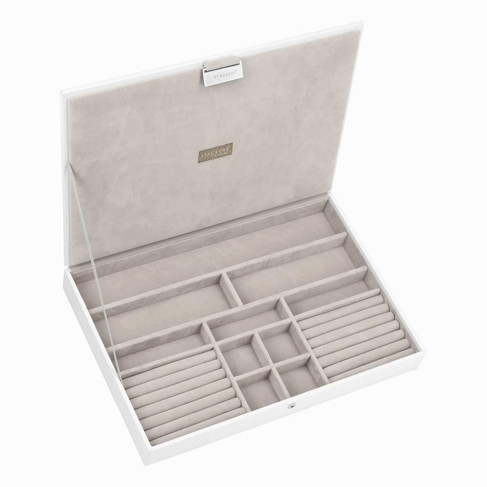 Supersize Top Box | White & Stone-1