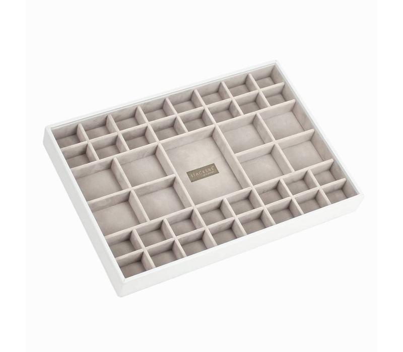 Supersize 41-Section Box   White & Stone