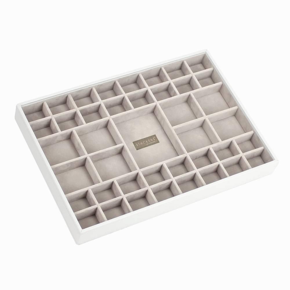 Supersize 41-Section Box | White & Stone-1