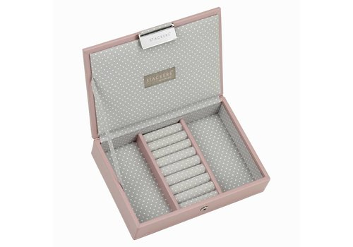 STACKERS Mini Lidded Soft Pink