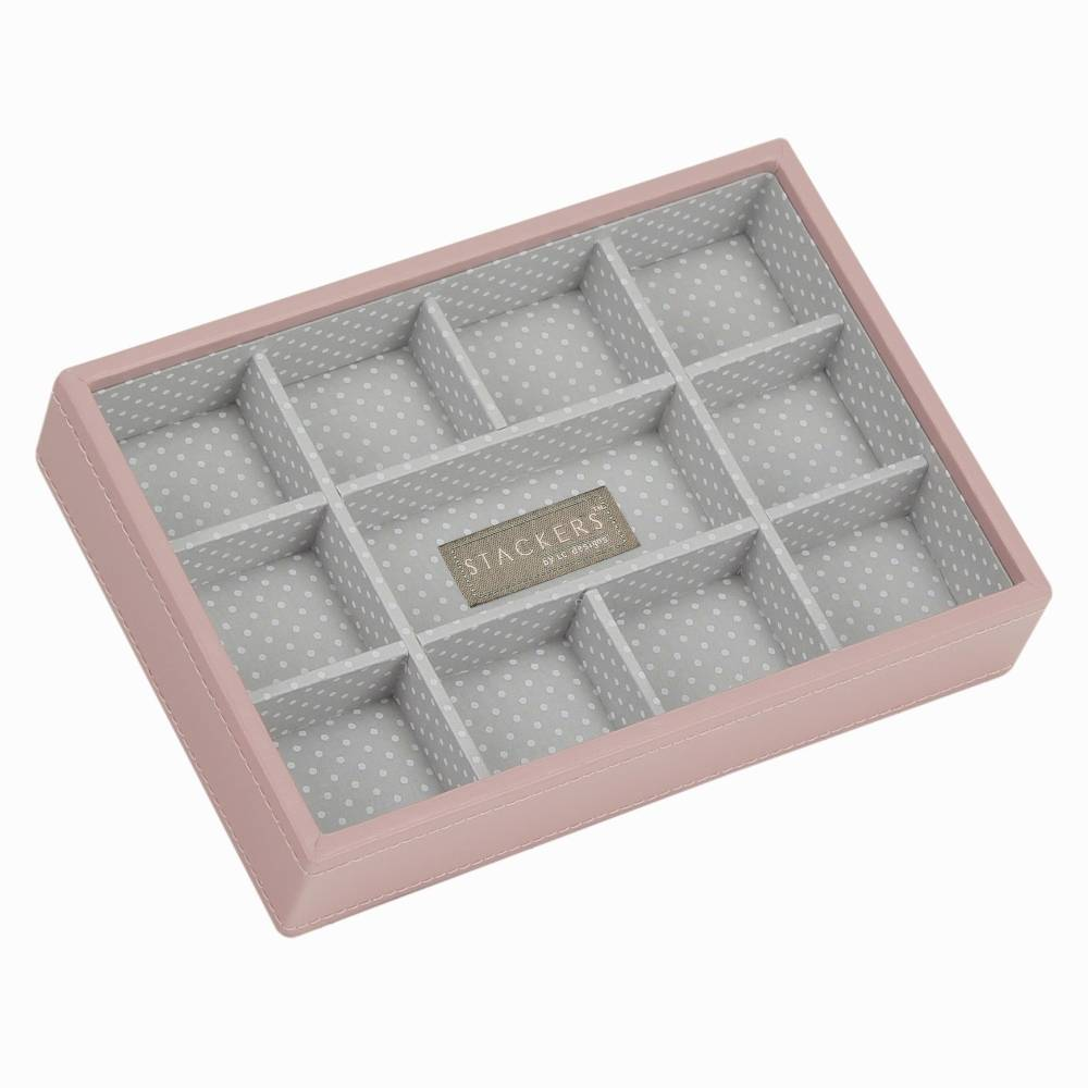 Mini 11-Section Stacker in Soft Pink-1