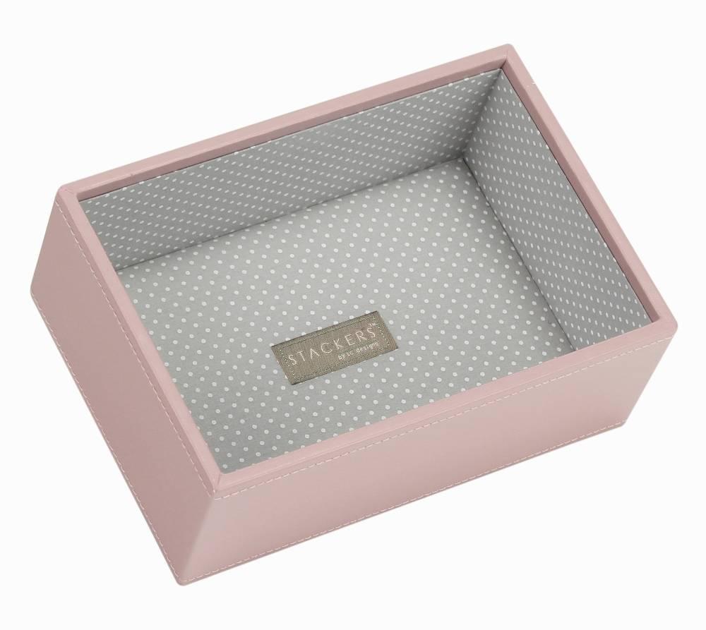 Mini Deep Open Stacker in Soft Pink-1