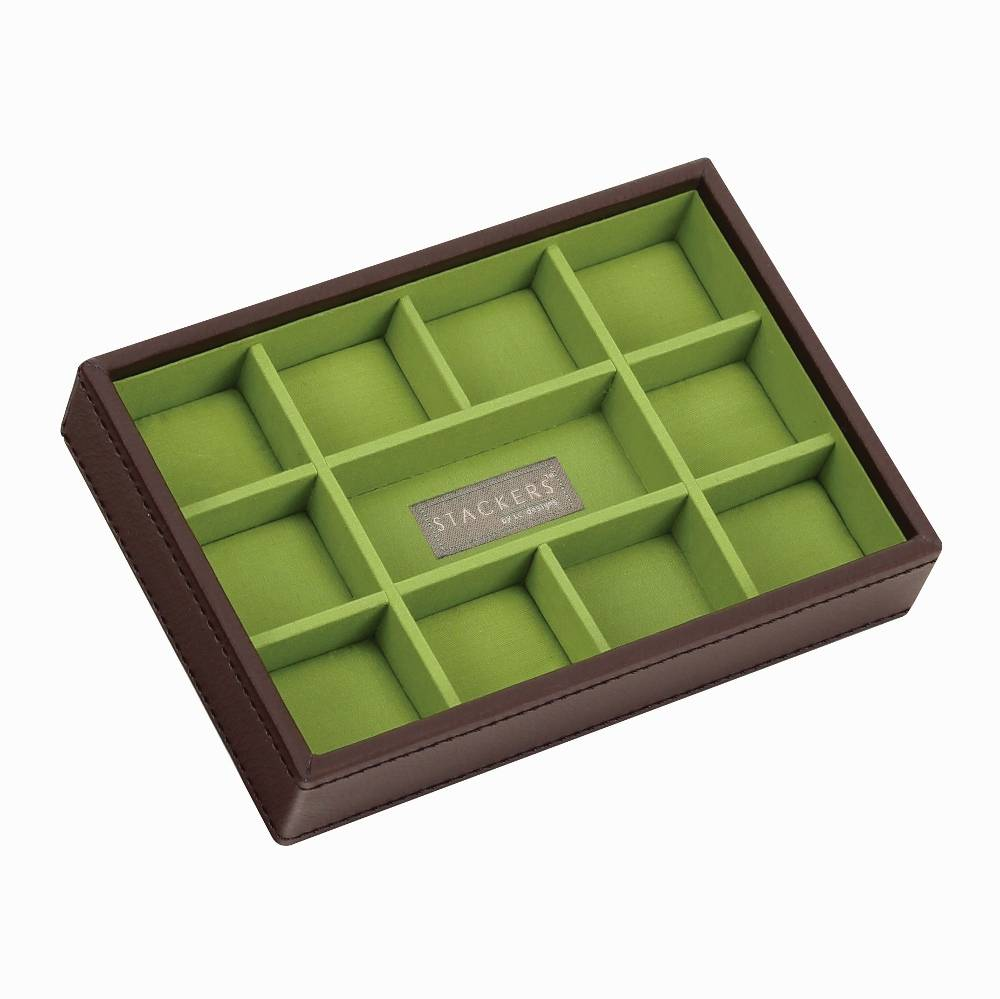Mini 11-Section Stacker in Chocolate-1