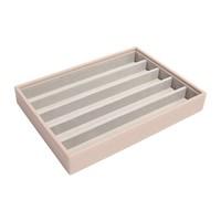 Classic 5-Section Box   Blush & Grey