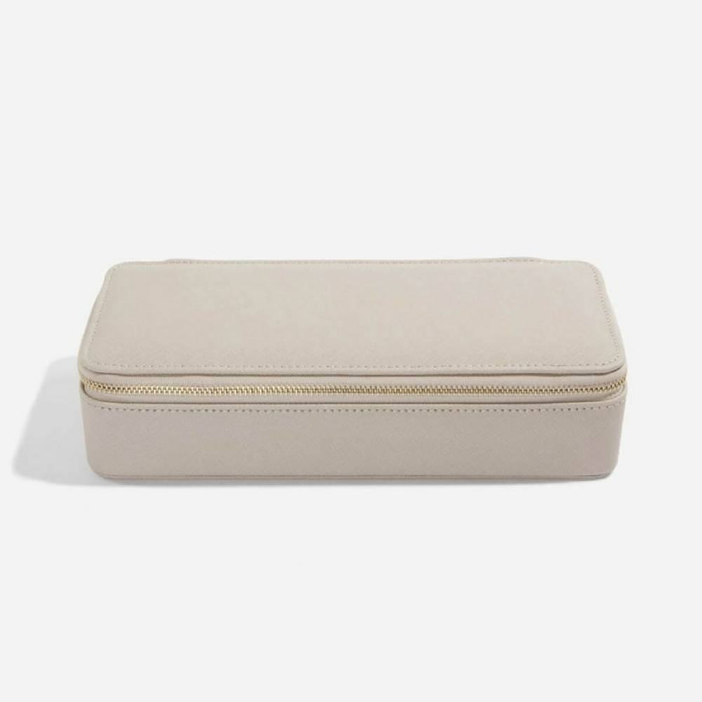 Supersize Etui / Travel Box Set in Taupe & Grey-2