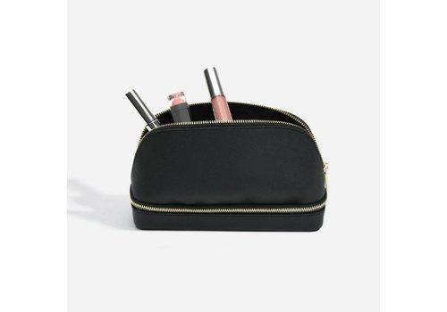 STACKERS Make-Up Bag | Schwarz